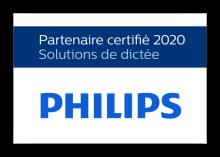 Partenaire certifié 2016 - Solutions de dictée professionnelle PHILIPS